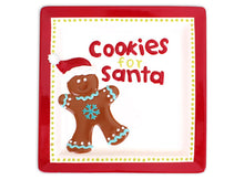 Load image into Gallery viewer, Cookies for Santa Plate
