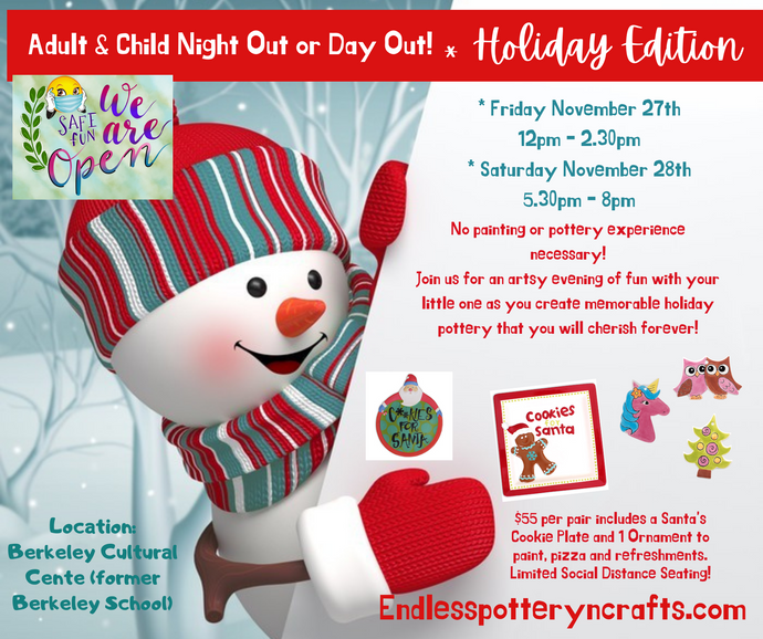 Adult & Child Day Out Friday November 27