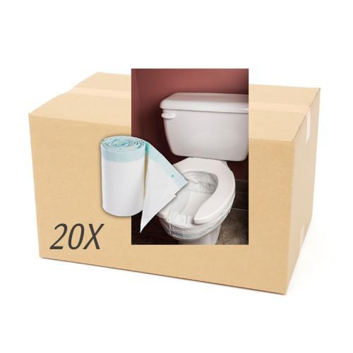 Case of 360 HYGIENIC bowl protectors