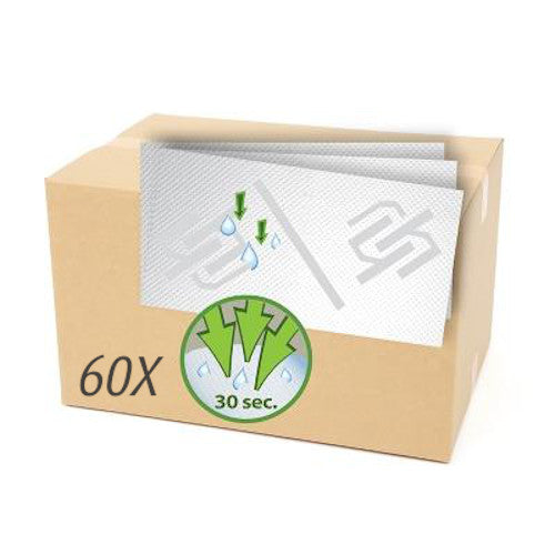 Case of 60 HYGIE superabsorbent pads
