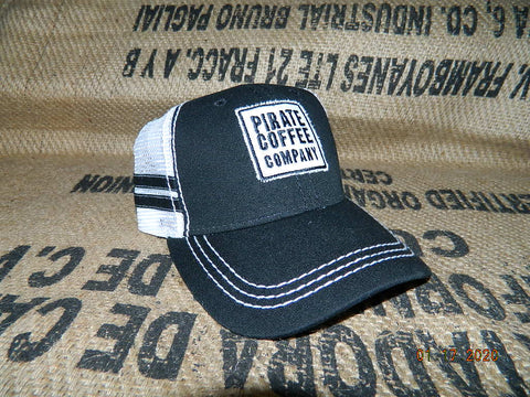 Pirate Coffee Company Logo Hat