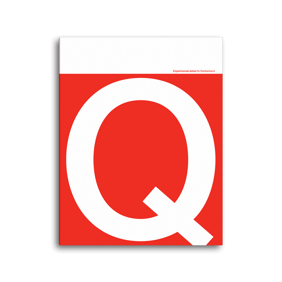 four letter notebook Q