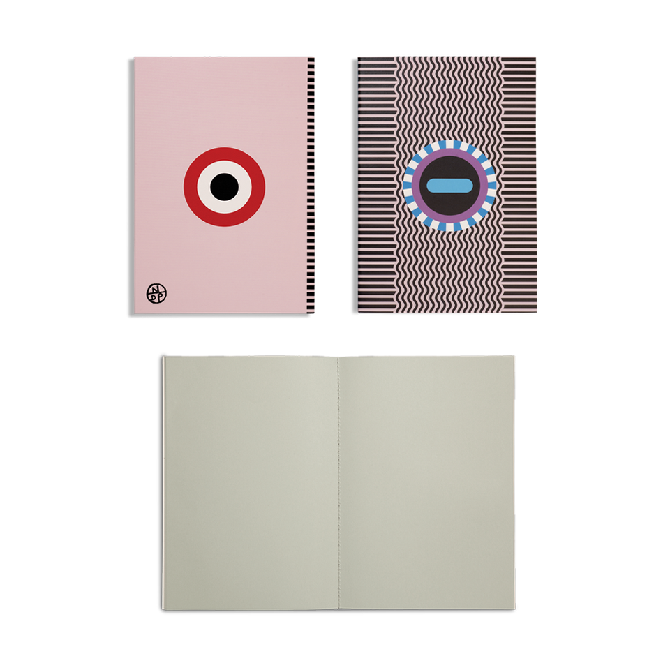 nathalie du pasquier notebooks - set of 6