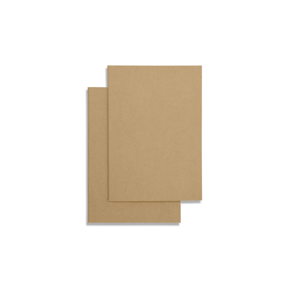 slim series A6 : kraft - set of 6