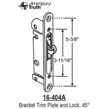 Load image into Gallery viewer, Mortise Lock 16-404A