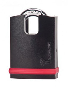 "MUL-T-LOCK MT5+ #10 NE-Series Padlock with High Guard (3/8"" Shackle)"