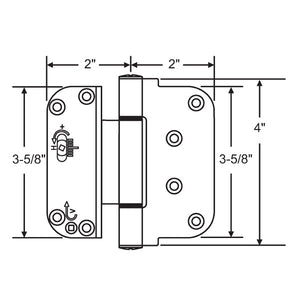 Truth Hinge Satin Nickel 56-440SNK