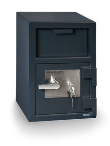 Hollon FD-2014K Front Load Depository Safe with Key Lock