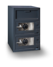 Load image into Gallery viewer, Hollon FDD-3020CC Double Door Depository Safe