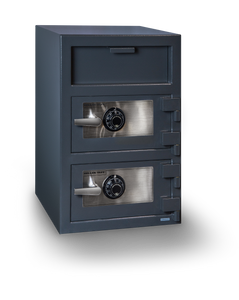 Hollon FDD-3020CC Double Door Depository Safe