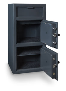 Hollon FDD-4020EE Double Door Depository Safe