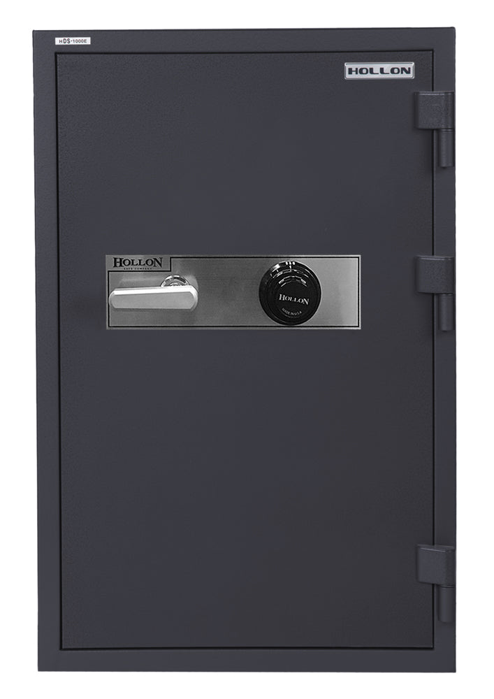 Hollon HDS-1000C Data Media Safe with Dial Combination Lock