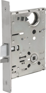 Cal-Royal SC Series, Extra Heavy Duty Mortise Locks with Clutch, Grade 1 - Privacy Bedroom / Bath Function SC8040, F22