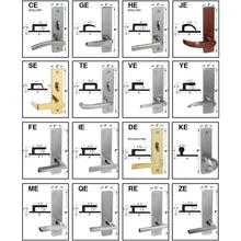 Load image into Gallery viewer, Cal-Royal NM Series, Extra Heavy Duty Mortise Locks, Grade 1 - ESCUTCHEON TRIM SINGLE FIXED DUMMY Function, Left-Hand (VE-ZE)