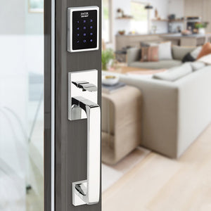 EMPowered Deadbolts - EMPowered Motorized Touchscreen Keypad Deadbolt In Oil Rubbed Bronze - Emtek Hardware
