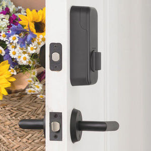 EMPowered Deadbolts - Empowered Neos Single Cylinder Deadbolt Connected by August in Oil Rubbed Bronze - Emtek Hardware