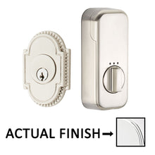 Load image into Gallery viewer, EMPowered Deadbolts - Empowered Knoxville Single Cylinder Deadbolt Connected by August in Satin Nickel - Emtek Hardware