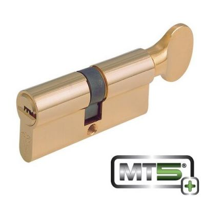 Mul-T-Lock MT5+ Euro Profile Cylinder with Thumb Turn (33 x 33mm)