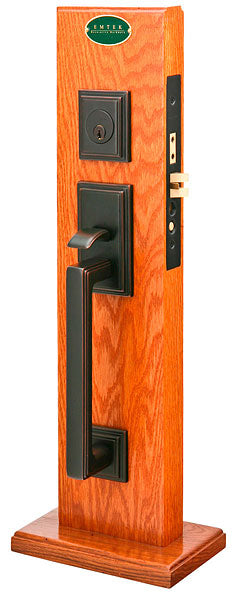 Emtek Mills Mortise Entrance Handleset