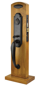 Emtek Octagon Mortise Entrance Handleset