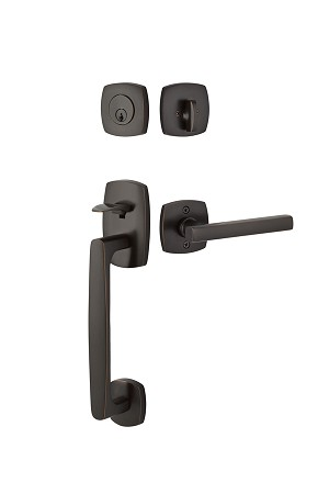 Emtek Urban Modern Sectional Entrance Handleset