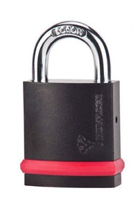 "MUL-T-LOCK MT5+ #10 NE-Series Padlock with Low Guard (3/8"" Shackle)"