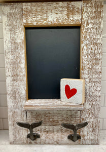 Reclaimed Wood Chalk Board