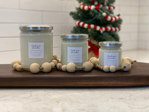 Winter Wonderland Wood Wick Candle Collection