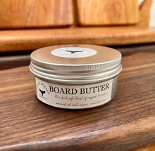 Load image into Gallery viewer, Organic Beeswax Board Butter