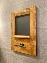 Load image into Gallery viewer, Reclaimed Wood Chalk Board