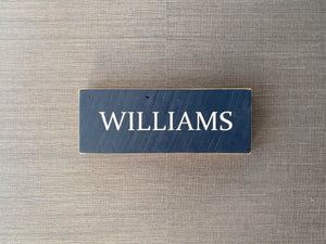Last Name Sign (Small)
