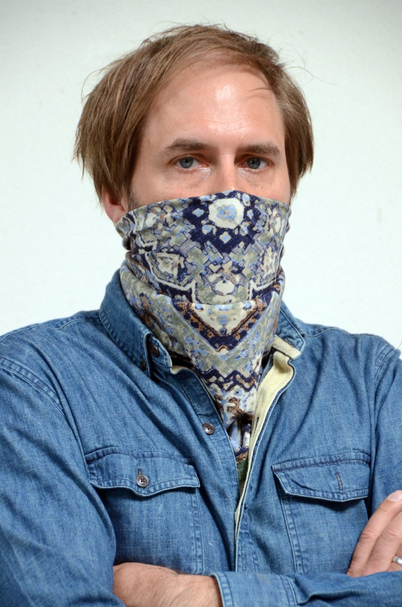 Neckerchief Inca grün - REAL GUYS