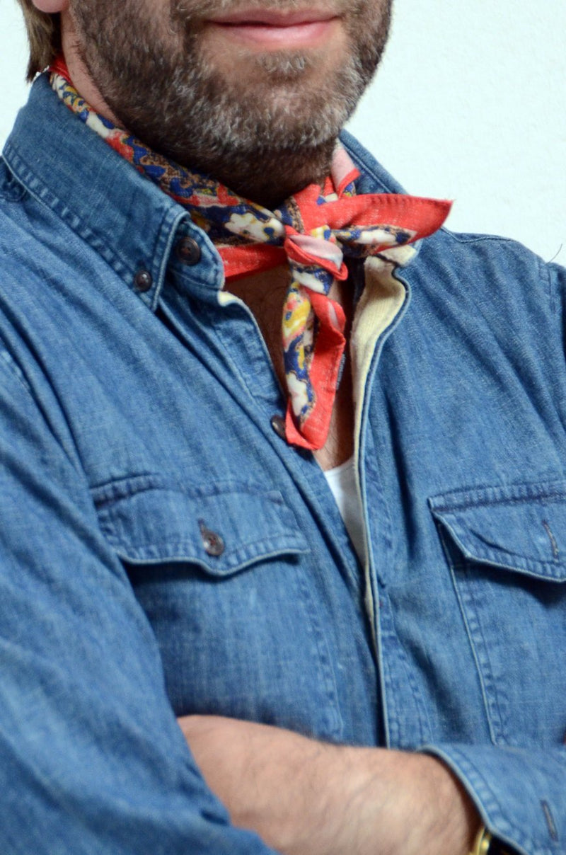 Neckerchief Inca rot - REAL GUYS