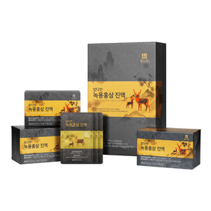 Chamdahan Deer Antlers Red Ginseng Extract (50ml) - Hasutomi