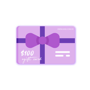 Hasu eGift Card ($10, $25, $50, $100)