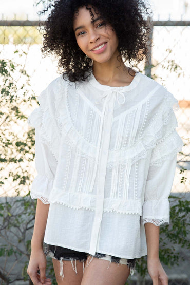 Ivory Farrow Blouse