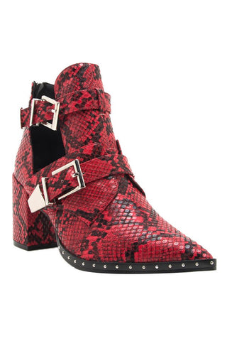 Candice Snake Bootie