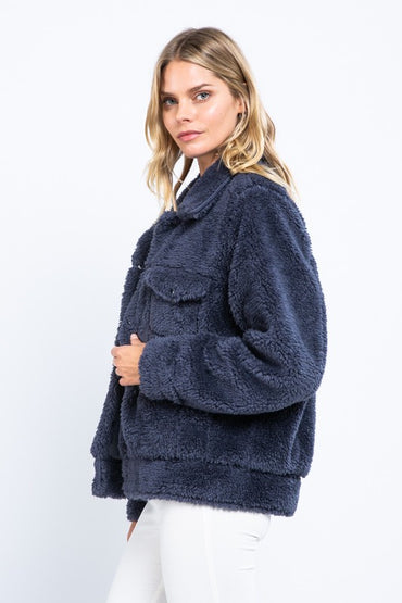 Libby Navy Coat