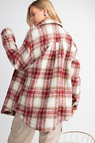 Gaston Plaid Jacket