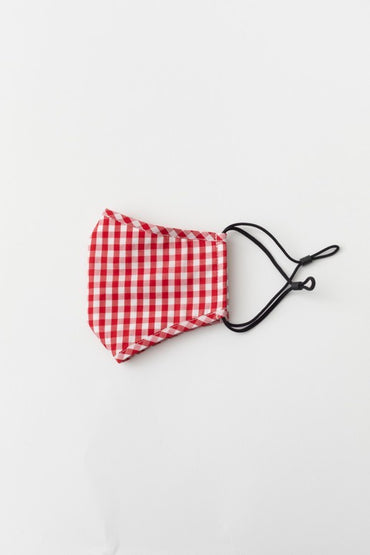 Red Gingham Mask