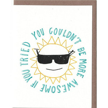The Great Lakes Goods - AWESOME SUN CARD