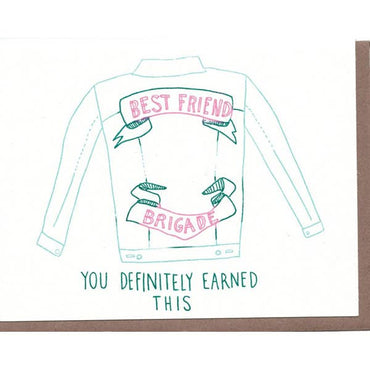 The Great Lakes Goods - Bff Brigade Card