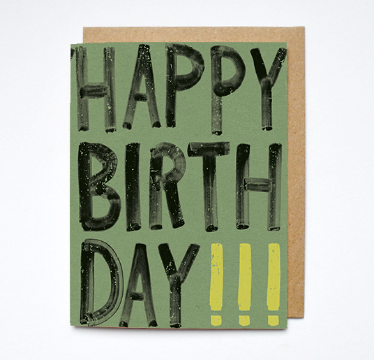 Daydream Prints - Happy birthday card