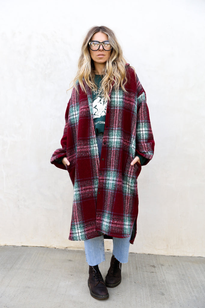 Duffy Shirt Coat