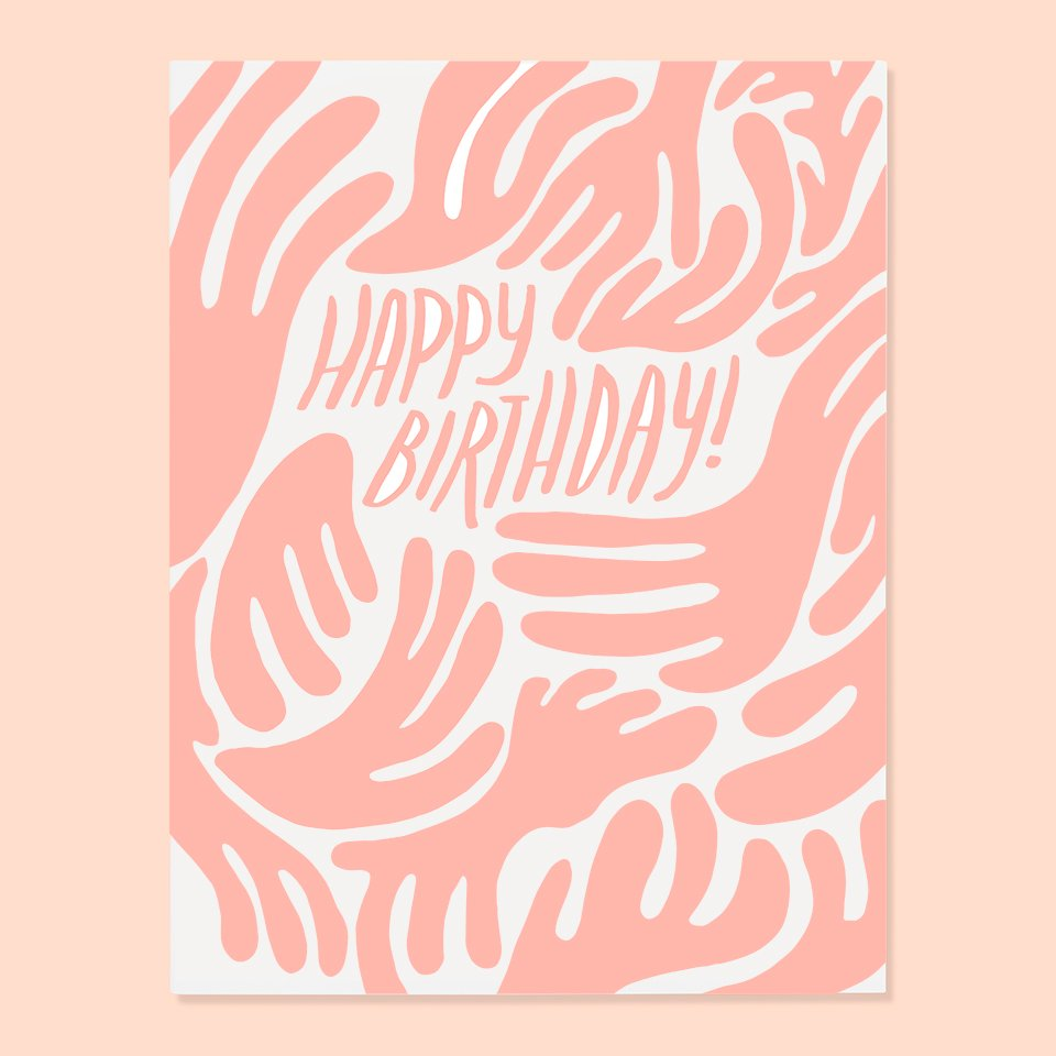 The Good Twin - Blob Birthday Card