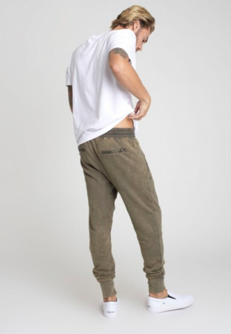 Class Mens Lounge pant / olive