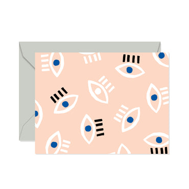 Confetti Riot - Eyes Card