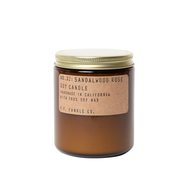 P.F. Candle Co. - Sandalwood Rose - 7.2 oz Standard Soy Candle