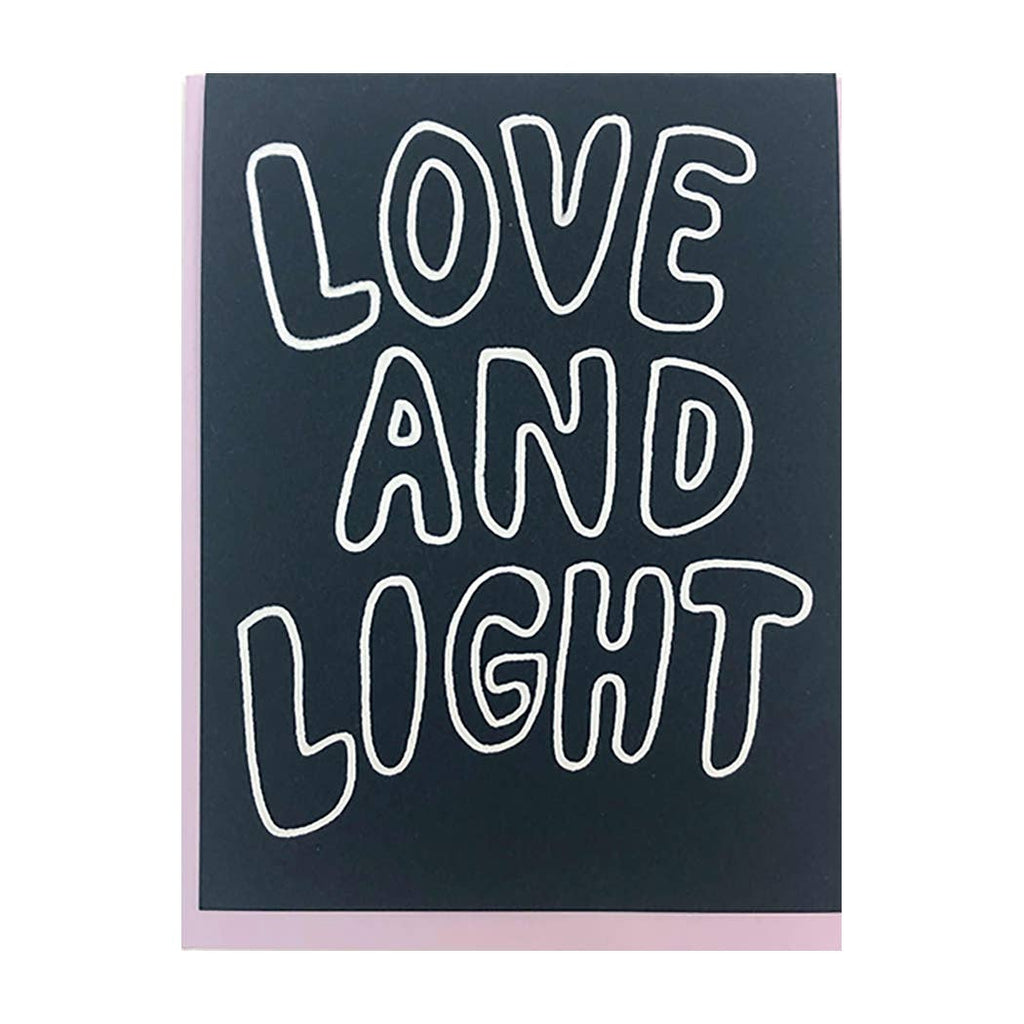 The Great Lakes Goods - LOVE AND LIGHT CARD