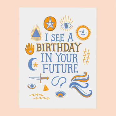 The Good Twin - Ouija Birthday Card
